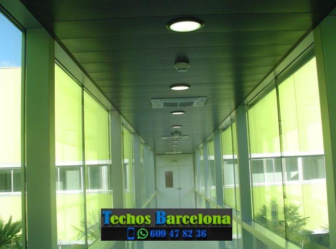 Presupuestos de techos de aluminio en Copons Barcelona