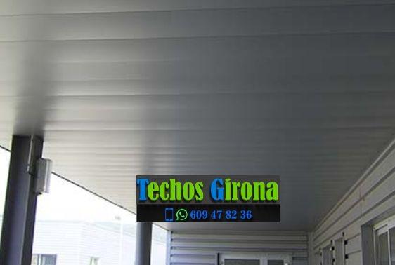 Presupuestos de techos de aluminio en Crespià Girona