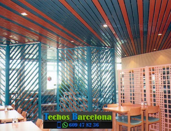 Presupuestos de techos de aluminio en Cubelles Barcelona