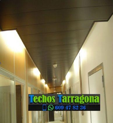 Presupuestos de techos de aluminio en El Lloar Tarragona