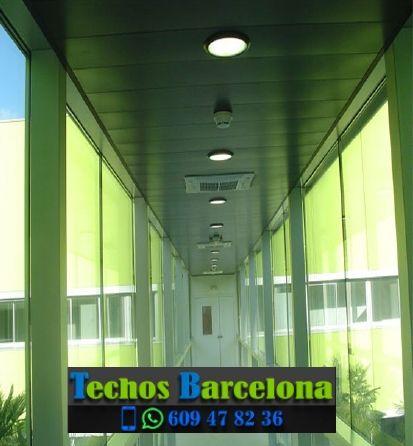 Presupuestos de techos de aluminio en Fígols Barcelona