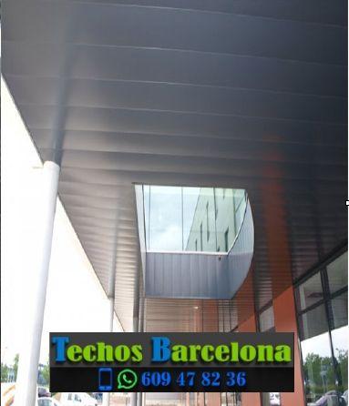 Presupuestos de techos de aluminio en Fogars de la Selva Barcelona