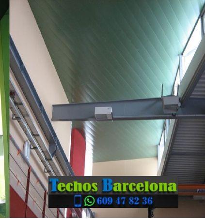 Presupuestos de techos de aluminio en Folgueroles Barcelona