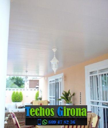 Presupuestos de techos de aluminio en Fornells de la Selva Girona