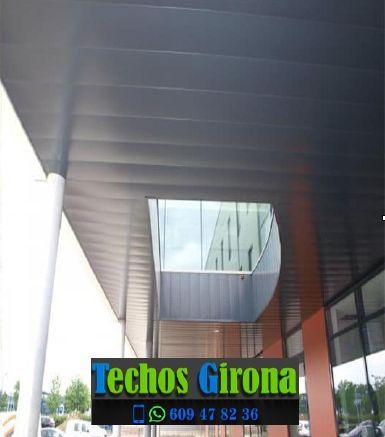 Presupuestos de techos de aluminio en Garriguella Girona