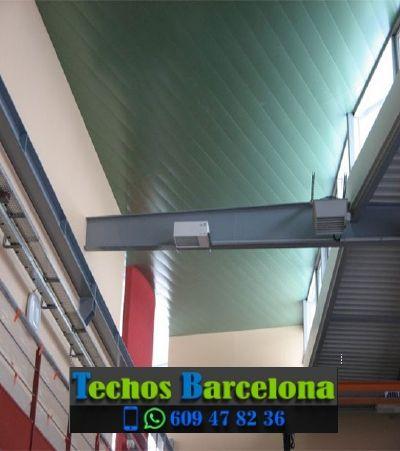 Presupuestos de techos de aluminio en Gisclareny Barcelona