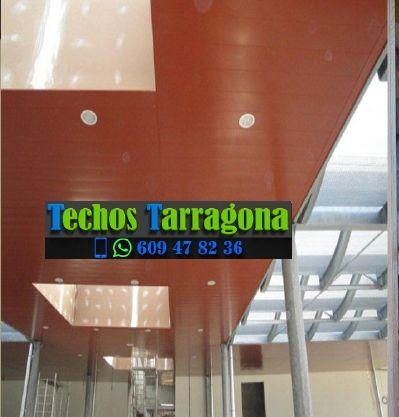 Presupuestos de techos de aluminio en Gratallops Tarragona