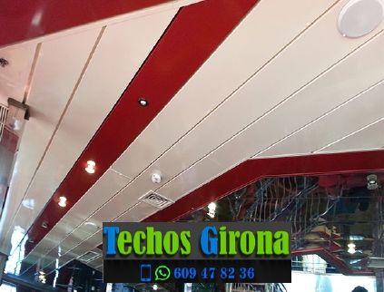 Presupuestos de techos de aluminio en Gualta Girona