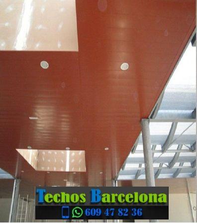 Presupuestos de techos de aluminio en La Nou de Berguedà Barcelona