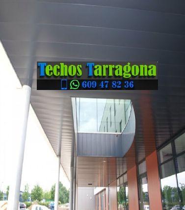 Presupuestos de techos de aluminio en La Riera de Gaià Tarragona