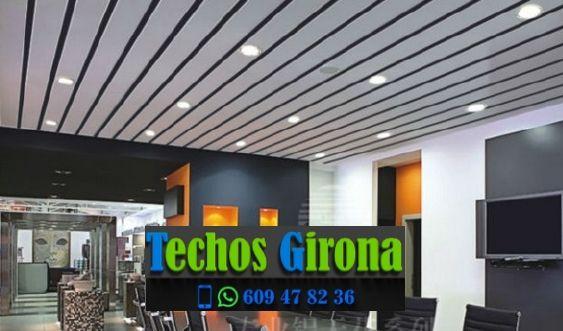 Presupuestos de techos de aluminio en Llanars Girona