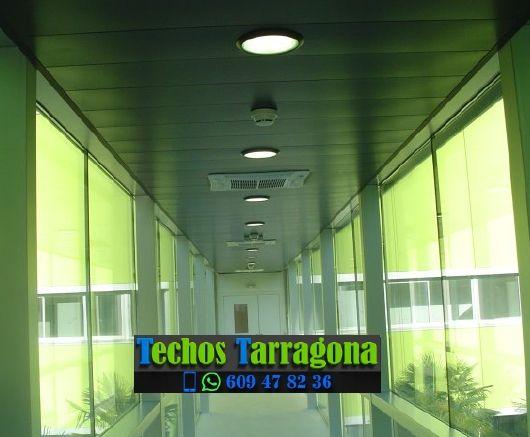 Presupuestos de techos de aluminio en Llorac Tarragona