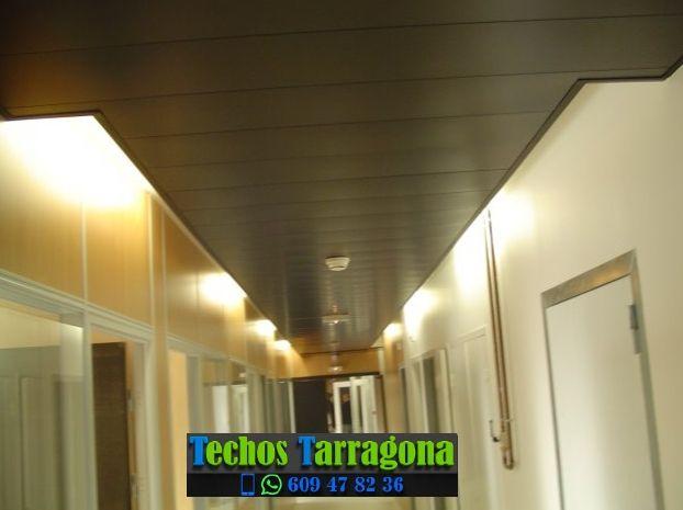 Presupuestos de techos de aluminio en Marçà Tarragona