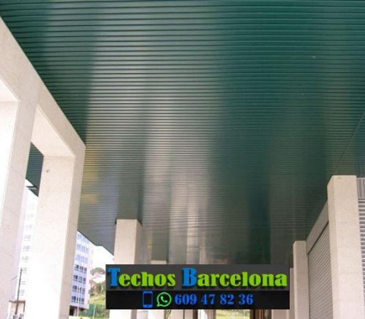 Presupuestos de techos de aluminio en Martorelles Barcelona