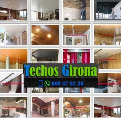 Presupuestos de techos de aluminio en Mont-ras Girona