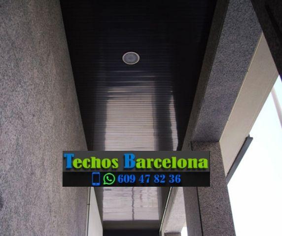 Presupuestos de techos de aluminio en Montesquiu Barcelona