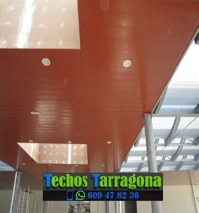 Presupuestos de techos de aluminio en Nulles Tarragona