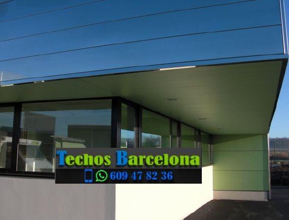 Presupuestos de techos de aluminio en Olvan Barcelona