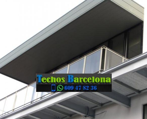 Presupuestos de techos de aluminio en Orpí Barcelona