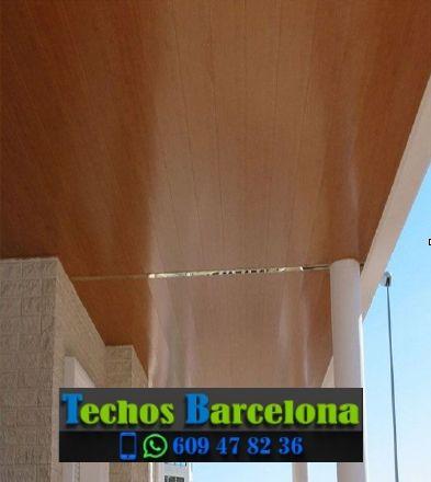 Presupuestos de techos de aluminio en Òrrius Barcelona
