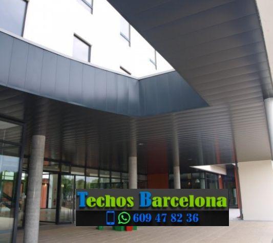 Presupuestos de techos de aluminio en Pacs del Penedès Barcelona