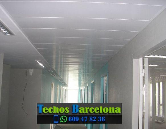Presupuestos de techos de aluminio en Palafolls Barcelona