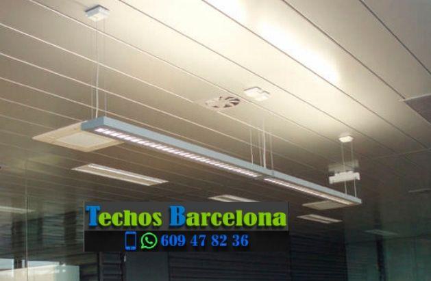 Presupuestos de techos de aluminio en Piera Barcelona