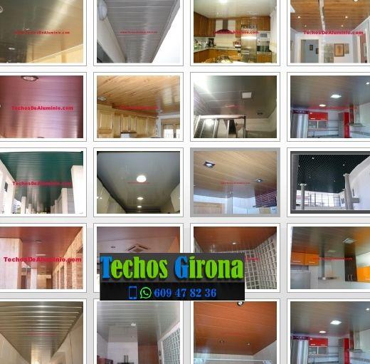 Presupuestos de techos de aluminio en Planoles Girona