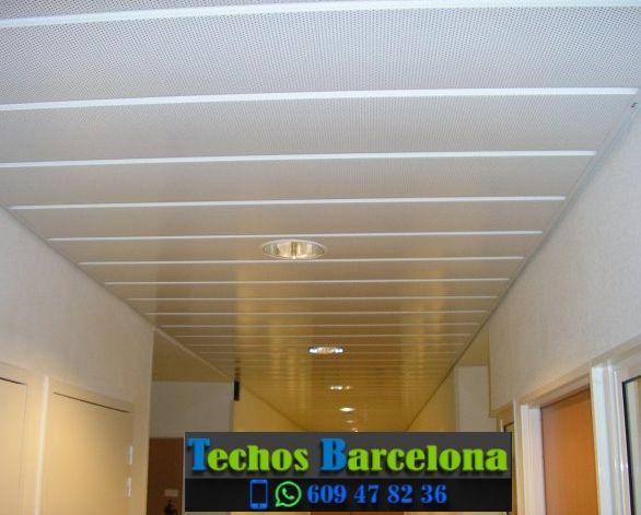 Presupuestos de techos de aluminio en Pontons Barcelona