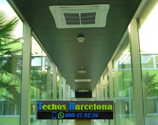 Presupuestos de techos de aluminio en Puigdàlber Barcelona