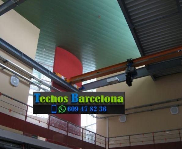 Presupuestos de techos de aluminio en Rajadell Barcelona