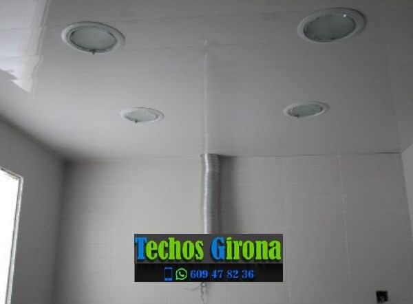 Presupuestos de techos de aluminio en Riudaura Girona