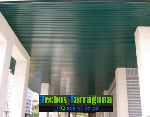 Presupuestos de techos de aluminio en Roquetes Tarragona