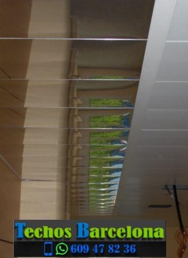 Presupuestos de techos de aluminio en Rubió Barcelona