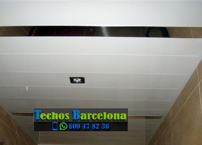 Presupuestos de techos de aluminio en Saldes Barcelona