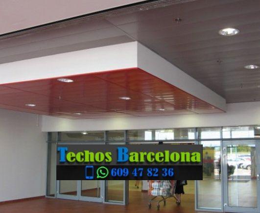 Presupuestos de techos de aluminio en Sant Adrià de Besòs Barcelona