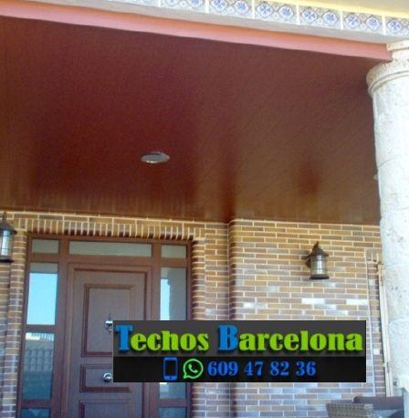 Presupuestos de techos de aluminio en Sant Cugat Sesgarrigues Barcelona