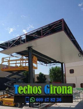 Presupuestos de techos de aluminio en Sant Feliu de Guíxols Girona