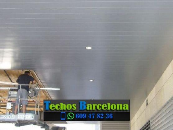 Presupuestos de techos de aluminio en Sant Llorenç Savall Barcelona