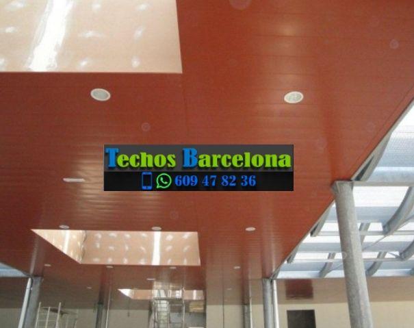 Presupuestos de techos de aluminio en Sant Martí de Tous Barcelona