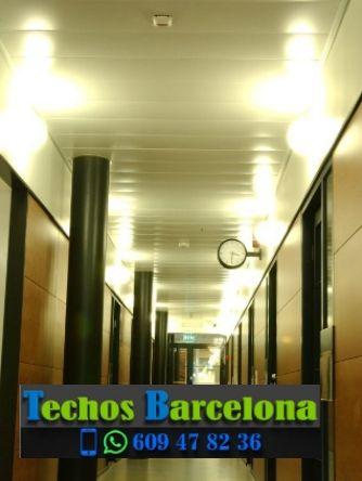 Presupuestos de techos de aluminio en Sant Mateu de Bages Barcelona