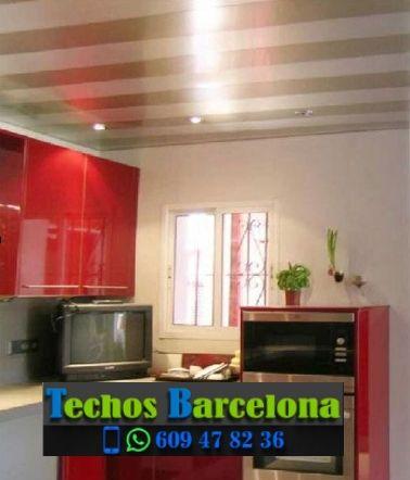 Presupuestos de techos de aluminio en Sant Pere de Ribes Barcelona