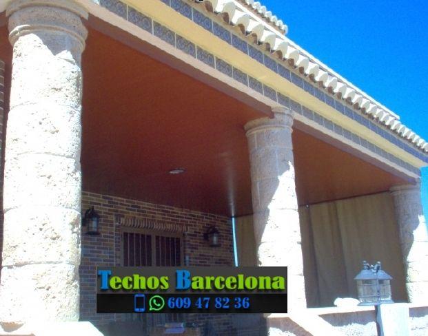 Presupuestos de techos de aluminio en Sant Pere de Riudebitlles Barcelona