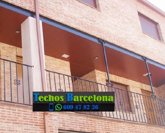 Presupuestos de techos de aluminio en Sant Pere de Vilamajor Barcelona