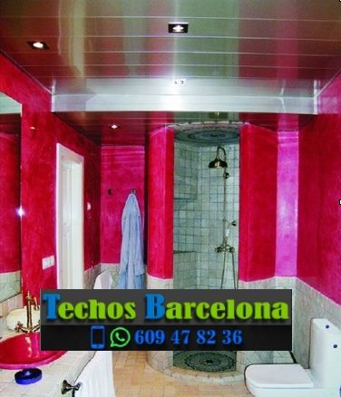 Presupuestos de techos de aluminio en Sant Vicenç dels Horts Barcelona