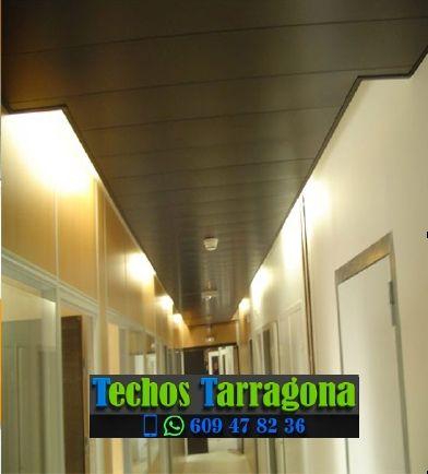 Presupuestos de techos de aluminio en Santa Coloma de Queralt Tarragona