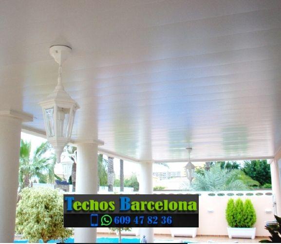 Presupuestos de techos de aluminio en Santa Maria de Miralles Barcelona