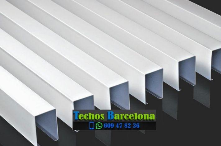 Presupuestos de techos de aluminio en Santpedor Barcelona