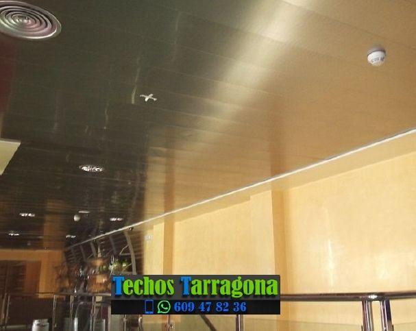 Presupuestos de techos de aluminio en Sarral Tarragona
