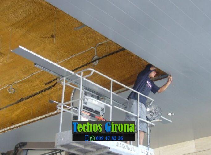 Presupuestos de techos de aluminio en Sarrià de Ter Girona